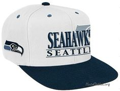 e72b9e7ab Seattle Seahawks nice white cap Seattle Seahawks