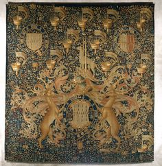 Гобелены с гербами и значки Иоанна, Господь Dynham | Южная нидерландской | Метрополитен Музей искусств
