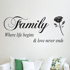 Family Quote - BigWallPrints.com
