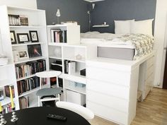 "Awesome ""murphy bed ideas ikea apartment therapy"" info is offered on our internet site. Apartment Therapy, Studio Apartment Living, Tiny Studio Apartments, One Room Apartment, Studio Apartment Layout, Studio Apartment Decorating, Apartment Design, Danish Apartment, Apartment Ideas"