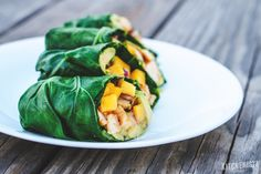 An easy tutorial to follow on how to prep and blanch fresh collard leaves to use for low-carb, gluten-free sandwich wraps.