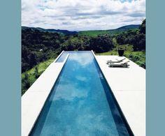 plantas de casas com piscina borda infinita - Pesquisa Google