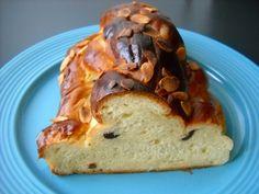 Vánočka od tety recept | Vaření.cz Sandwiches, Bread, Food, Brot, Essen, Baking, Meals, Breads, Paninis