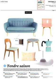 Mademoiselle Dimanche Vivre Paris printemps 2014