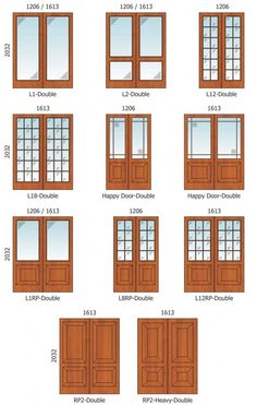 Narrow french doors french doors and doors on pinterest for Narrow double french doors
