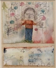 Paul Klee (1879-1940) volgt nooit de verhaallijn van mythologische sagen, maar concentreert zich op een bepaald aspect en vervormt dat tot een symbool, een persoonlijke mythe. mythologische thema's hebben al vanaf het begin (circa 1901) in het werk van Paul Klee een belangrijke rol gespeeld. -1918