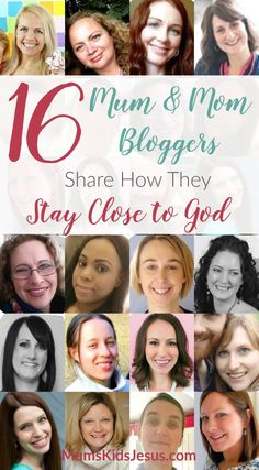 My favourite mum and mom bloggers share how they stay close to God. Ideas and resources to help you meet with God. Plus two free gifts! via @ Joanna Mums.Kids.Jesus