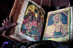 Bible in Debra Damo, Ethiopia