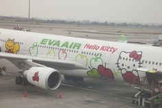 I would love to travel in the plane!! I had Hello Kitty everything growing up!!
