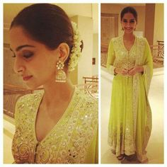 How to wear Gajra in your Hair like Sonam Kapoor