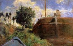 Blue Barge - Paul Gauguin