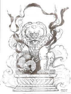1000 images about komainu lion dog on pinterest temples statue and masks. Black Bedroom Furniture Sets. Home Design Ideas