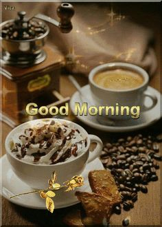 Happy Weekend Images, Good Morning Good Night, Mornings, Gifs, Breakfast, Food, Good Morning, Morning Coffee, Gifts