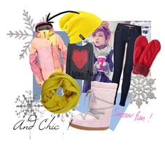 """snow"" by wikaa on Polyvore"