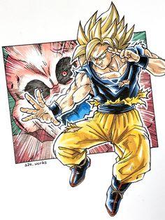Dragon Ball Z, Dbz Drawings, Db Z, Pixel Animation, Cultura Pop, Chibi, Character Design, Comic, Animals