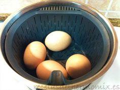Como cocer huevos con el Thermomix