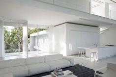 Pitsou Kedem Studio - House 13 http://www.pitsou.com/portfolio/ramat-hasharon-house-13/ Neowall modular seating by Piero Lissoni for Living Divani