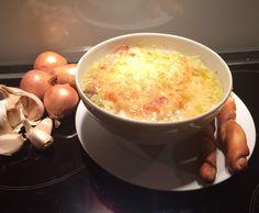 Rezept Französische Zwiebelsuppe von Schirmle - Rezept der Kategorie Suppen