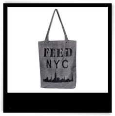 FEED NYC Bag For Sandy Relief | The Zoe Report