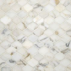 Etoile Calacatta Gold Polished Water Jet Mosaic | Artistic Tile....in the shower ???