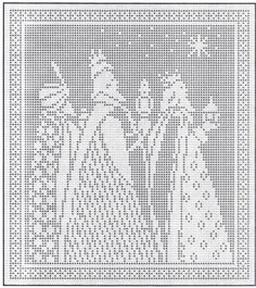 ~ Three Kings ~ Pattern....
