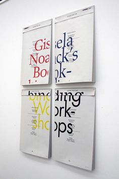 Gisela Noak's Bookbinding Workshop