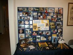 high school graduation memory table idea | ... High School Senior. Isn't this a 'must' at all graduation open houses