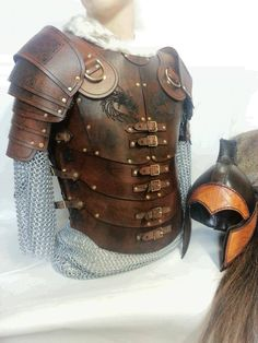 A Romanesque armour I created for a client wanting something different but with a classic look