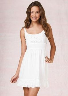Picture of Sandra Kubicka Cute White Dress, White Eyelet Dress, Dresses For Sale, Summer Dresses, Find Girls, Bridesmaid Dress Styles, Girl Outfits, Fashion Dresses, My Style