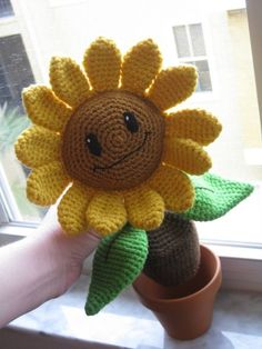 Plants Vs Zombies, crochet and cuter than ever!