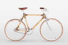 bamboo frame is constructed from carefully selected bamboo tubes, epoxy resin and hemp fiber for outstanding durability and flexibility #bamboo #bike #bicycle #handmade #unique
