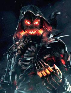 Scarecrow (post Killer Croc attack) - Arkhamverse