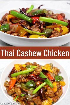 Thai Chicken Stir Fry, Prawn Stir Fry, Thai Stir Fry, Chicken Cashew Stir Fry, Hoisin Chicken, Cashew Chicken Recipes, Thai Prawn Recipes, Curry Recipes, Asian Recipes