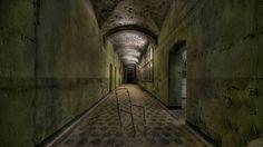 Ruínas do hospital Beelitz-Heilstätten, em Berlim