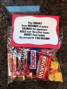 Softball Gifts, Cheer Gifts, Diy Gifts, Softball Goodie Bags, Football Player Gifts, Cheerleading Gifts, Candy Gifts, Senior Night Football Gifts, Football Players