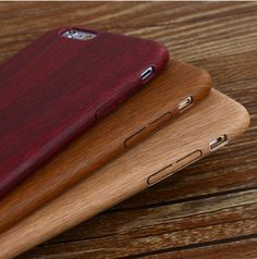 A luxury wooden look PU leather case with special touch feeling and elegant appearance that protects your phone back and frame from fingerprints, scratches, dust, collisions and abrasion. This design