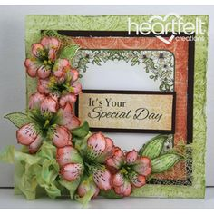 Heartfelt Creations - Special Day Lilies Project
