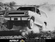 75 Trail Duster catching air
