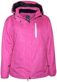 7897a065d5c8e Pulse Plus Size Extended Women s Insulated Snow Jacket Mt... Plus Size Ski  Jackets