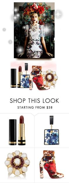 """""""Modern Baroque #2."""" by babysnail ❤ liked on Polyvore featuring Gucci, Tory Burch, Goossens, Christian Louboutin, modern, ToryBurch, christianlouboutin, baroque, gucci and barneys"""
