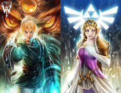 Legend of Zelda by Ceasar Ian Muyuela