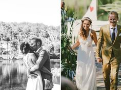 Organic Fruit Farm Wedding: Xanthe + Sam    Flower crown!