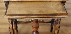 Flipping Timber loves restoring old furniture because it is sustainable and allows you to give new life to a piece of history Restoring Old Furniture, Wooden Art, Flipping, Restoration, Recycling, Table, Projects, Home Decor, Wood Art