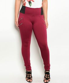 600f285954648 Love this Burgundy Leggings on  zulily!  zulilyfinds Plus Size Clothing  Stores