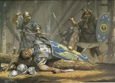 Roman soldiers in the forests of Dacia