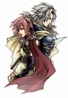 Square Enix, Final Fantasy XIII, Final Fantasy Dissidia, Lightning (FF XIII), Warrior Of Light