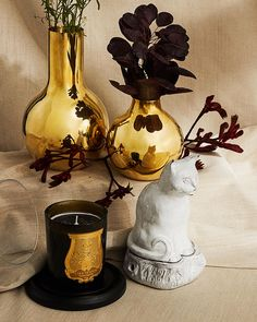 Whether you're looking to gift a host or enhance your own holiday gathering, the little things go a long way. Turn to our home selection for happy hosting—find elegant and covetable candles, vases and objects from Skultuna, Astier de Villatte, Cire Trudon & more. Holiday Gift Guide, Holiday Gifts, Shoe Palace, Fragrance Online, Apothecary, Decorative Bells, Objects, Candles, Vases