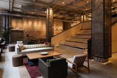 Rockwell Group : Projects : Andaz Maui at Wailea Rockwell Group, Lobby Design, Amazing Spaces, Coworking Space, Stairs, Relax, Contemporary, Interior Design, Gallery