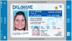 The mid-Atlantic state of Delaware in the USA has launched a mobile driver license app. The new mDL will be put to test in a 6-month trial run that will involve about 200 employees of the Delaware Division of Motor Vehicles.