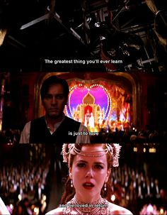 The greatest thing according to Moulin Rouge
